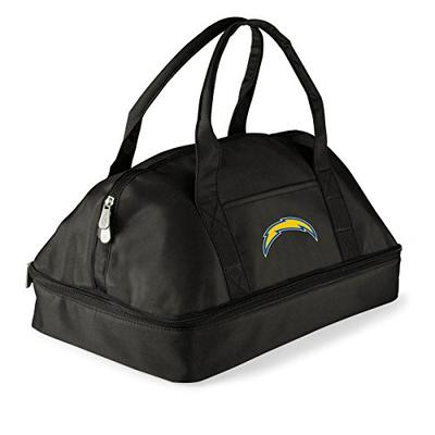 NFL Los Angeles Chargers Potluck Casserole Tote, Black