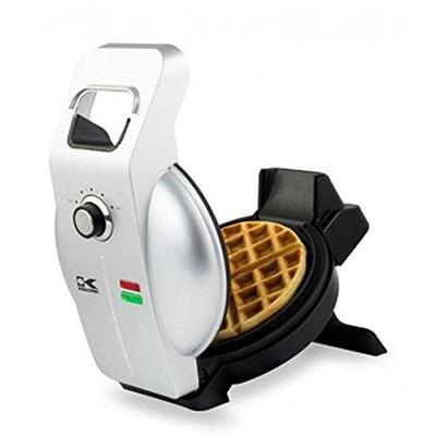 Kalorik Easy Pour Waffle Maker, WM 43981 SS, Mess & Stress Free GIA Award Winning Waffle Iron, Measu