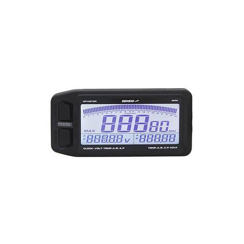 Koso EFI Multimeter Drehzahl und Temperatur