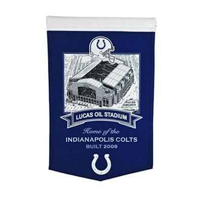 Winning Streak NFL Indianapolis Colts Lucas Oil Stadium Banner