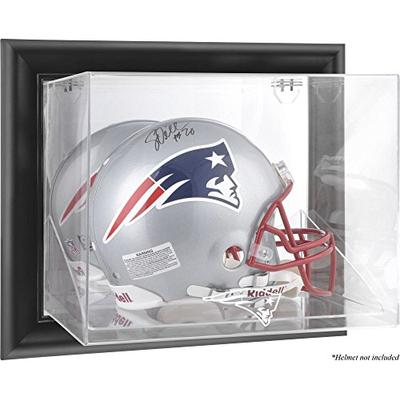 Mounted Memories New England Patriots Black Framed Wall Mounted Helmet Display
