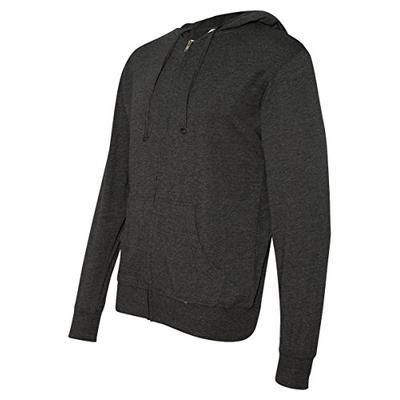 Independent Trading Co. - Lightweight Jersey Hooded Full-Zip T-Shirt - SS150JZ