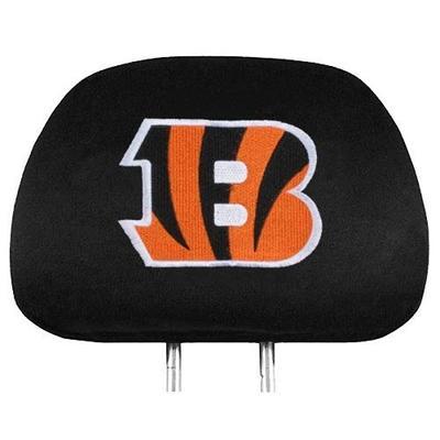 NFL Cincinnati Bengals Head Rest Covers, 2-Pack