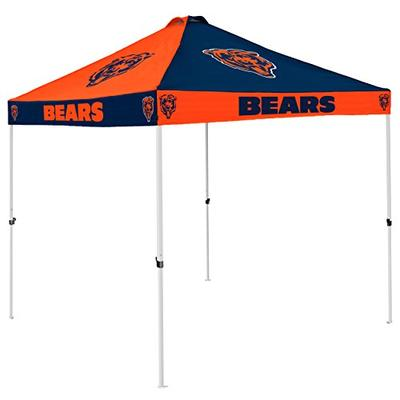 Logo Brands NFL Chicago Bears Checkerboard Tent Checkerboard Tent, Navy, One Size